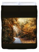 Late Autumn Trail Duvet Cover
