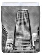 Canary Wharf Tower Duvet Cover