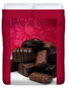 Chocolate Candies Duvet Cover