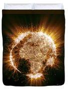 Earths Energy Duvet Cover