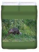Eastern Wild Turkey Duvet Cover by Linda Freshwaters Arndt