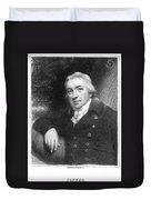Edward Jenner (1749-1823) Duvet Cover