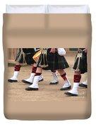 English Uniforms Duvet Cover
