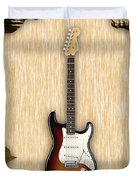 Fender Stratocaster Collection Duvet Cover