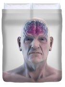 Geriatric Brain Duvet Cover