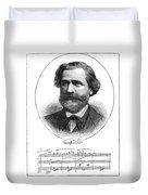 Giuseppe Verdi (1813-1901) Duvet Cover