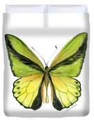8 Goliath Birdwing Butterfly Duvet Cover