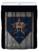 Houston Astros Duvet Cover