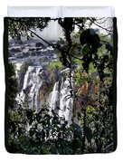 Iguazu Falls - South America Duvet Cover