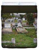 Key West Cemetery Duvet Cover