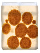 Lipid Droplets Tem Duvet Cover