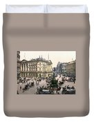 London Piccadilly Circus Duvet Cover