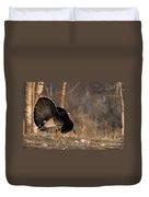 Male Eastern Wild Turkey Duvet Cover