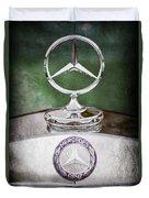 Mercedes Benz Hood Ornament Duvet Cover
