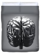 Metallic Brain Duvet Cover