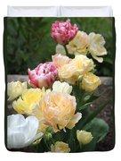 Parrot Tulips Duvet Cover