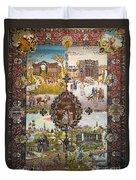 Photos Of Persian Antique Rugs Kilims Carpets  Duvet Cover