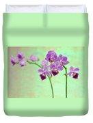 Purple Orchid-11 Duvet Cover