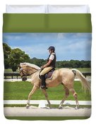 Rocking Horse Stables Duvet Cover