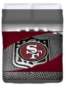 San Francisco 49ers Duvet Cover