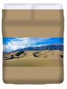 Sand Dunes In A Desert, Great Sand Duvet Cover