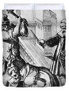 Sir Thomas More (1478-1535) Duvet Cover