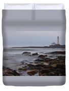 St Marys Lighthouse Duvet Cover