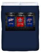 Texas Rangers Duvet Cover