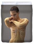 The Skeletal System Female Duvet Cover