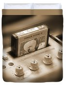 8-track Tape Player Duvet Cover by Mike McGlothlen
