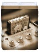 8-track Tape Player Duvet Cover