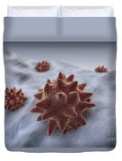 Virus Particles Duvet Cover