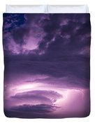 Wicked Good Nebraska Supercell Duvet Cover