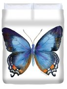 80 Imperial Blue Butterfly Duvet Cover