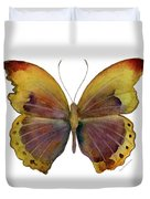 84 Gold-banded Glider Butterfly Duvet Cover by Amy Kirkpatrick