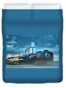 844 Night Train Duvet Cover