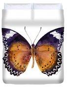 87 Cethosia Cyane Butterfly Duvet Cover by Amy Kirkpatrick