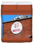 87 Motel Duvet Cover