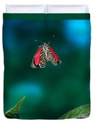 89 Butterfly In Flight Duvet Cover