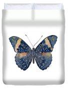 89 Red Cracker Butterfly Duvet Cover