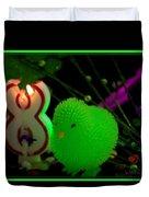 8th Celebration Duvet Cover