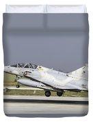 A Qatar Emiri Air Force Mirage Duvet Cover
