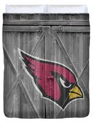 Arizona Cardinals Duvet Cover by Joe Hamilton