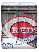 Cincinnati Reds Duvet Cover