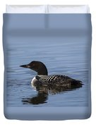 Common Loon Duvet Cover