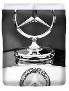 Mercedes-benz Hood Ornament Duvet Cover