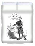 Prince Otto Von Bismarck  Duvet Cover