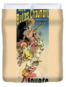 Reproduction Of A Poster Advertising Duvet Cover by Jules Cheret