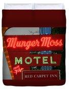 Route 66 - Munger Moss Motel Duvet Cover