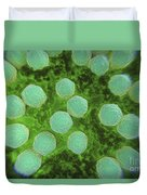 Rubella Virus Duvet Cover